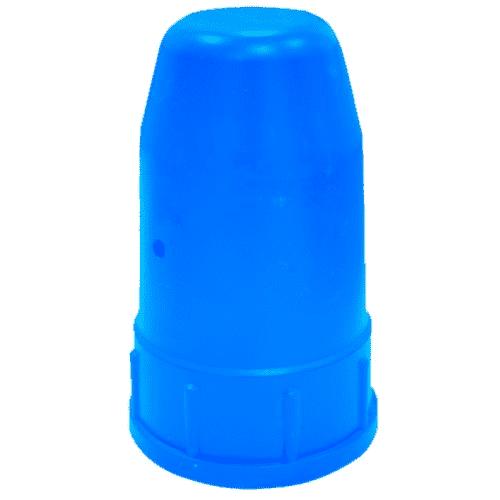 Колпак пластмассовый защитный (синий), фото  - Метэкс