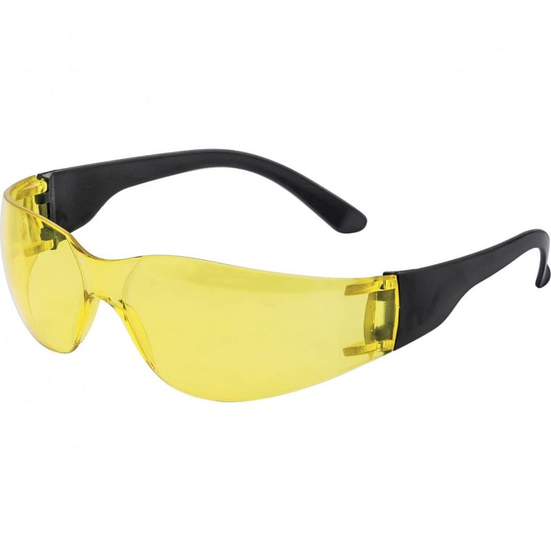 Очки защитные открытые поликарбонатные желтые ОЧК202 (0-13022) Россия, фото  - Метэкс