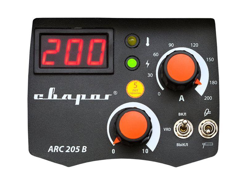 """Инвертор сварочный ARC 205 B """"TECH"""" (Z203), фото , изображение 3 - Метэкс"""