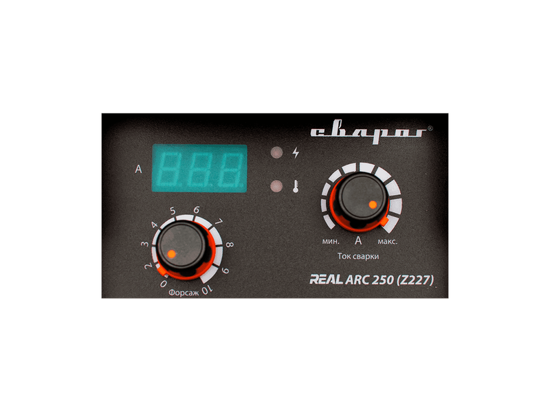 """Инвертор сварочный ARC-250 """"REAL"""" (Z227), фото , изображение 3 - Метэкс"""