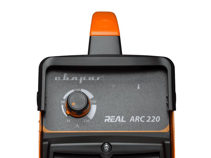"""Инвертор сварочный ARC-220 """"REAL"""" (Z243N), фото , изображение 3 - Метэкс"""