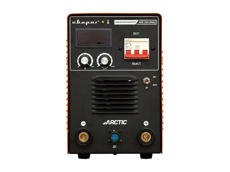 Инвертор сварочный ARCTIC ARC 250 (R06), фото , изображение 2 - Метэкс