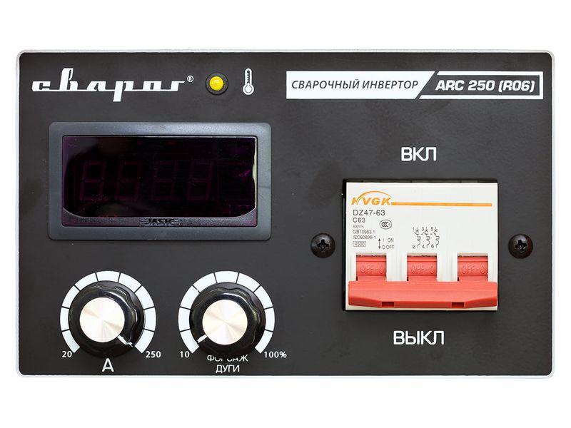 Инвертор сварочный ARCTIC ARC 250 (R06), фото , изображение 3 - Метэкс