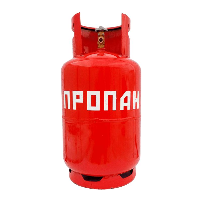 Баллон пропановый 12 литров, фото  - Метэкс