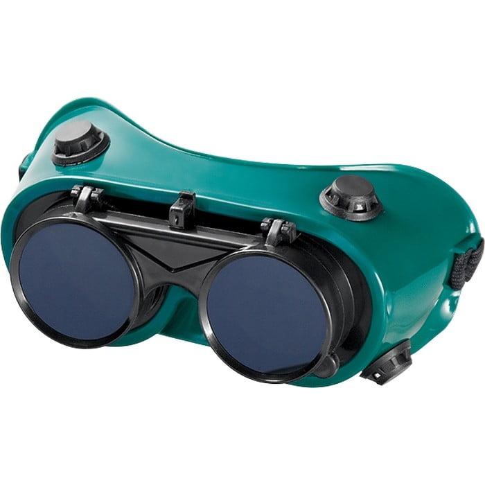 Очки газосварщика с откидными стеклами Matrix, фото  - Метэкс