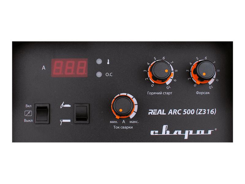 """Инвертор сварочный ARC-500 """"REAL"""" (Z316), фото , изображение 3 - Метэкс"""