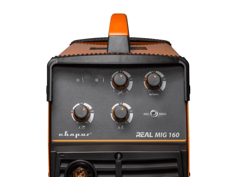 Сварочный инвертор REAL MIG 160 (N24001N), фото , изображение 3 - Метэкс