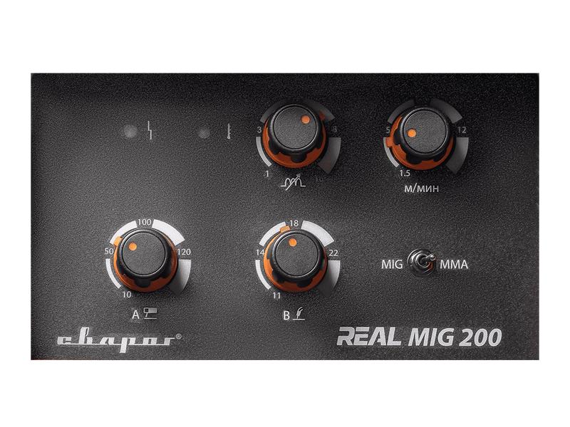 Сварочный инвертор REAL MIG 200 (N24002N), фото , изображение 3 - Метэкс