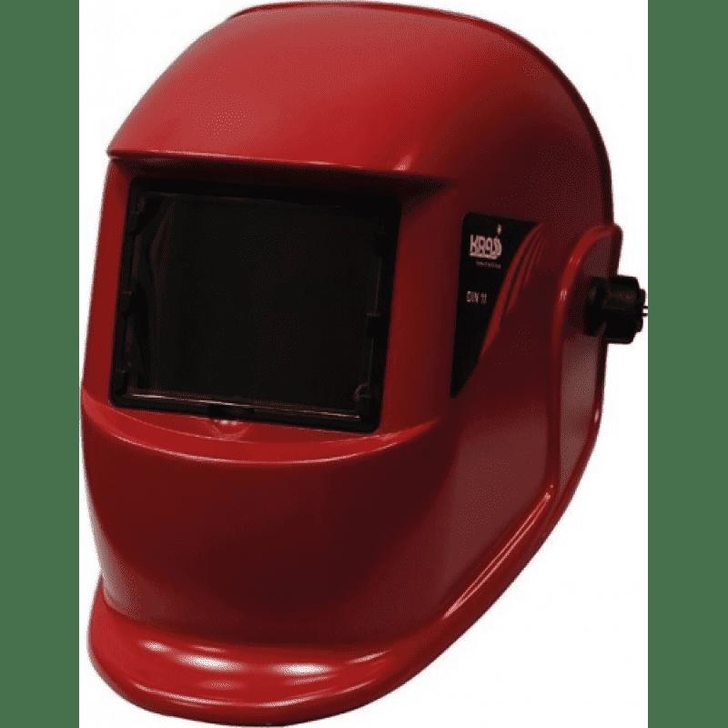 Маска сварщика WH 4000 WEGA Красный 110х90, фото  - Метэкс