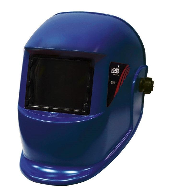 Маска сварщика WH 4000 WEGA Синий 110х90, фото  - Метэкс