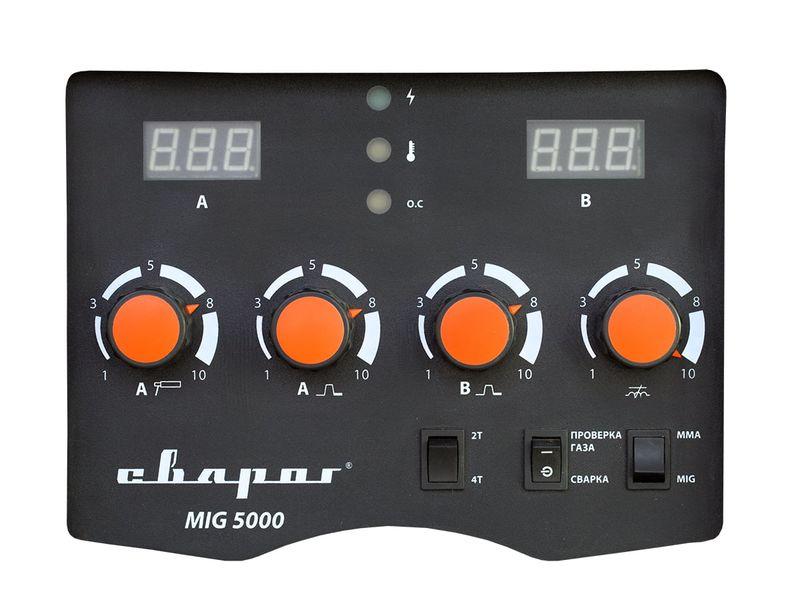 Сварочный инвертор TECH MIG 5000 (N221), фото , изображение 5 - Метэкс