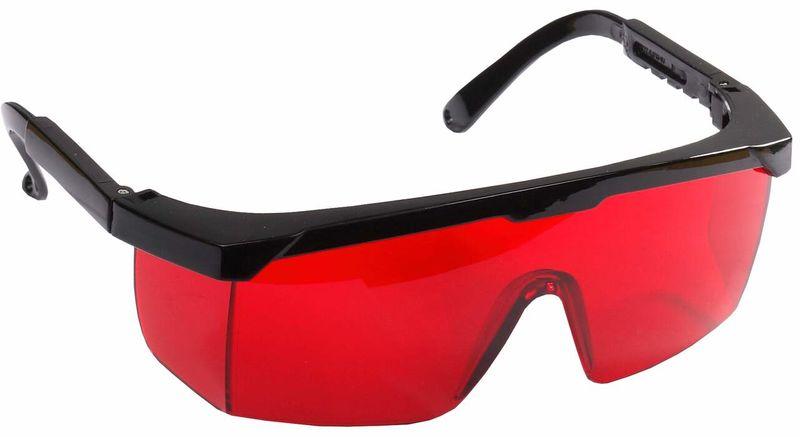 Очки защитные с регулируемыми дужками красные линзы STAYER 2-110457, фото  - Метэкс