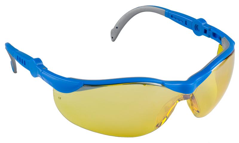 Очки защитные монолинза желтые ЗУБР 110311, фото  - Метэкс