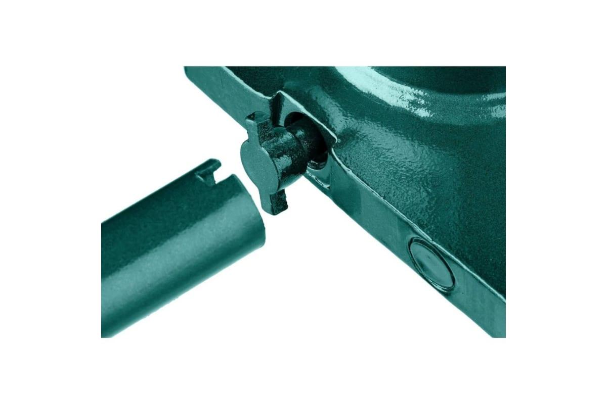 Домкрат гидравлический бутылочный 2 т подъем 170-380 мм Double Ram KRAFTOOL 43463-2, фото , изображение 4 - Метэкс