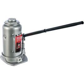 Домкрат гидравлический бутылочный 20 т подъем 242-452 мм MATRIX 50731, фото - Метэкс