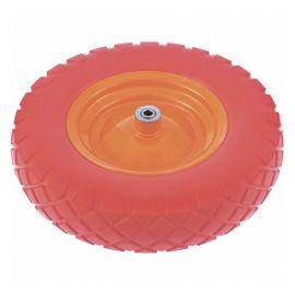 Колесо полиуретановое 4.80/4-8  длина оси 90мм подшипник 12, фото  - Метэкс