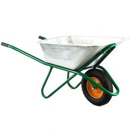 Тачка одноколесная грузоподъемность 200 кг объем 90 л садово-строительная усиленная Palisad, фото , изображение 4 - Метэкс