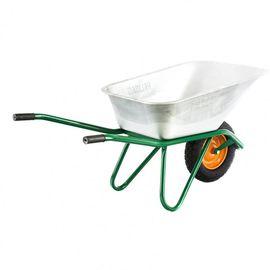 Тачка двухколесная грузоподъемность 320 кг объем 100 л садово-строительная усиленная Сибртех, фото , изображение 2 - Метэкс