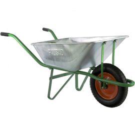 Тачка одноколесная грузоподъемность 120 кг объем 58 л садовая Palisad, фото - Метэкс