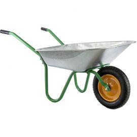Тачка одноколесная грузоподъемность 100 кг объем 65 л садовая Palisad, фото  - Метэкс