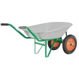 Тачка двухколесная грузоподъемность 170 кг объем 78 л садовая Palisad, фото , изображение 3 - Метэкс