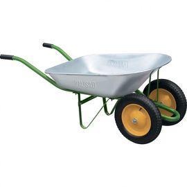 Тачка двухколесная грузоподъемность 170 кг объем 78 л садовая Palisad, фото , изображение 4 - Метэкс