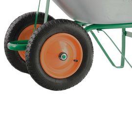 Тачка двухколесная грузоподъемность 170 кг объем 78 л садовая Palisad, фото , изображение 5 - Метэкс