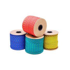 Шнур полипропиленовый плетеный без сердечника 6 мм 24-прядный 620кг, фото - Метэкс