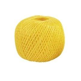 Шпагат полипропиленовый желтый 110 метров 1200 текс, фото - Метэкс