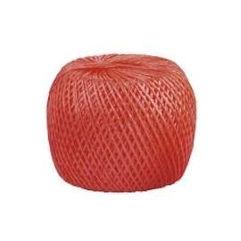 Шпагат полипропиленовый красный 110 метров 1200 текс, фото - Метэкс