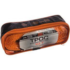 Трос буксировочный 10 тонн 2 крюка сумка на молнии STELS 54383, фото  - Метэкс