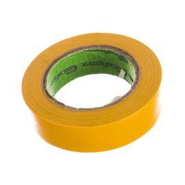 Изолента ПВХ 15 мм х 10 м желтая СИБРТЕХ 88790, фото  - Метэкс