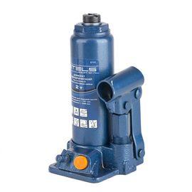 Домкрат гидравлический бутылочный 2 т подъем 181-345 мм пластиковый кейс STELS 51121, фото  - Метэкс