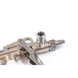 Краскораспылитель пневматический для финишных работ с верхним бачком V 0,1 л сопло D 0,5 мм Matrix, фото , изображение 2 - Метэкс