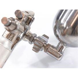 Краскораспылитель пневматический для финишных работ с верхним бачком V 0,1 л сопло D 0,5 мм Matrix, фото , изображение 3 - Метэкс