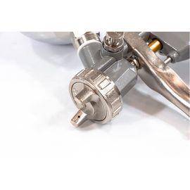 Краскораспылитель пневматический с верхним бачком V 0,6 л сопло D 1.2, 1.5 и 1.8 мм Matrix, фото , изображение 5 - Метэкс
