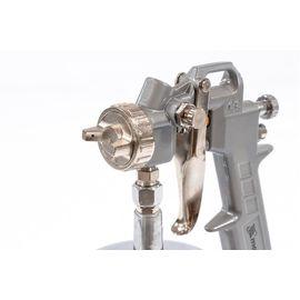 Краскораспылитель пневматический с нижним бачком V 1, 0 л сопло D 1.2, 1.5 и 1.8 мм MATRIX 57316, фото , изображение 2 - Метэкс