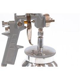 Краскораспылитель пневматический с нижним бачком V 1, 0 л сопло D 1.2, 1.5 и 1.8 мм MATRIX 57316, фото , изображение 4 - Метэкс