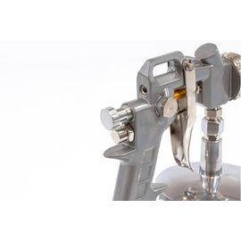 Краскораспылитель пневматический с нижним бачком V 1, 0 л сопло D 1.2, 1.5 и 1.8 мм MATRIX 57316, фото , изображение 6 - Метэкс