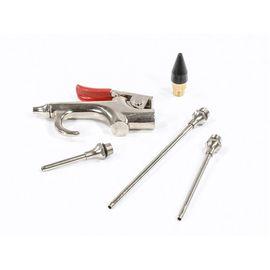 Набор продувочный пистолет пневмат в комплекте с насадками 4 шт Matrix, фото  - Метэкс