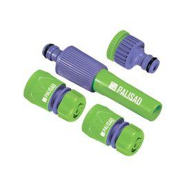 Набор для подключения шланга 1/2 распылитель 3 адаптера к распылителю PALISAD 65176, фото - Метэкс