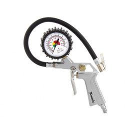 Набор пневмоинструмента 5 предметов быстросъемное соединение, краскорасп. с верхним бачком, фото , изображение 5 - Метэкс