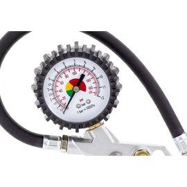 Набор пневмоинструмента 5 предметов быстросъемное соединение, краскорасп. с верхним бачком, фото , изображение 6 - Метэкс