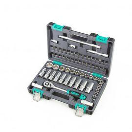 """Набор инструментов 1/2"""" пластиковый кейс 60 предметов STELS 14103, фото  - Метэкс"""