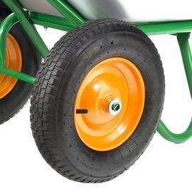 Тачка двухколесная грузоподъемность 320 кг объем 100 л садовая-строительная усиленная Palisad, фото , изображение 3 - Метэкс