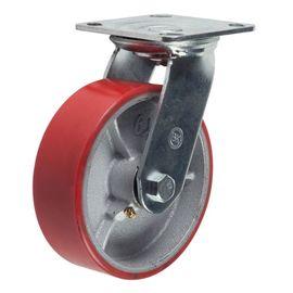 SCp55 (30) Ролик поворотный полиуретановый диам. 125 мм (220 кг), фото  - Метэкс