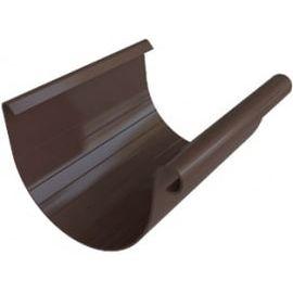 Желоб ПВХ шоколад (6), фото  - Метэкс