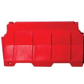 Емкость Дорожный блок водоналивной (150х48х81) Красный, фото  - Метэкс