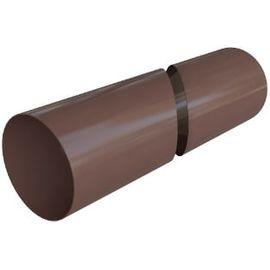 Труба ПВХ шоколад (6), фото  - Метэкс