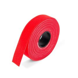 Лента велькро красный ЛВУ 205, фото  - Метэкс